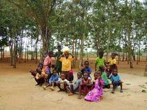 Niños africanos - Ghana Imagen de archivo