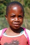 Niños africanos que sufren de virus SIDA en el pueblo de Pom Imagen de archivo