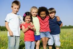 Niños alegres Fotografía de archivo