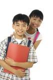 Niños asiáticos Imagen de archivo
