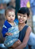 Niños Burmese Foto de archivo