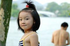 niños chinos foto de archivo