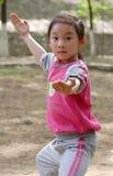niños chinos de KONGFU imágenes de archivo libres de regalías