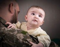 Niños contra guerra Foto de archivo