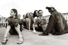Niños cubanos. Cuba. La Habana - 24 de enero de 2009 Imagenes de archivo