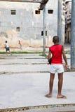 Niños cubanos, La Habana Foto de archivo libre de regalías
