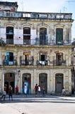 Niños cubanos que juegan en la calle Fotos de archivo libres de regalías