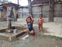 Niños de Funnyi Fotos de archivo libres de regalías