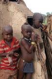 Niños de Himba Fotografía de archivo