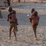 Niños de Himba Fotos de archivo libres de regalías