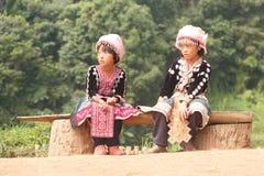 Niños de Hmong fotos de archivo libres de regalías