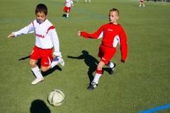 Niños de jugar del BSCA SChwalbach Fotos de archivo libres de regalías