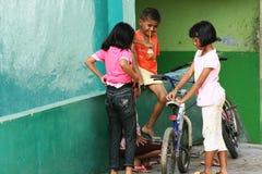Niños de la calle Imagenes de archivo