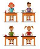 Niños de la escuela Imágenes de archivo libres de regalías