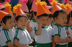 Niños de la guardería Fotografía de archivo