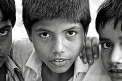 Niños de la India Imagenes de archivo