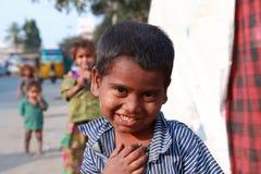 Niños de la India de la pobreza Fotografía de archivo libre de regalías