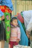 Niños de la minoría étnica Imágenes de archivo libres de regalías