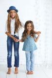 Niños de la moda Fotografía de archivo