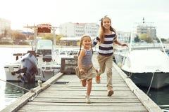Niños de la moda Fotos de archivo libres de regalías
