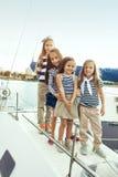 Niños de la moda Imagen de archivo libre de regalías