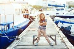 Niños de la moda Fotografía de archivo libre de regalías