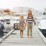 Niños de la moda Imagen de archivo