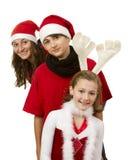 Niños de la Navidad Foto de archivo