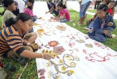 NIÑOS DE LA POBLACIÓN DE INDONESIA Imagenes de archivo