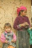 Niños de las minorías étnicas Imágenes de archivo libres de regalías