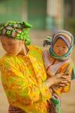 Niños de las minorías étnicas Fotografía de archivo libre de regalías