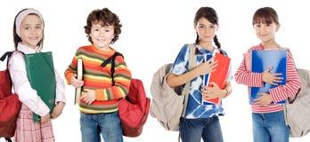Niños de los estudiantes de Lovables Fotografía de archivo libre de regalías