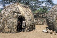 Niños de Turkana Imágenes de archivo libres de regalías