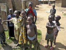 Niños de Uganda foto de archivo