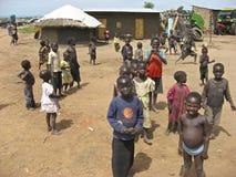 Niños de Uganda imagen de archivo