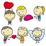 Niños del amor Imagen de archivo
