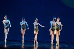 Niños del ballet de la noche imágenes de archivo libres de regalías