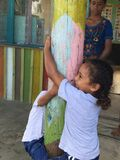 Niños del Fijian Imagenes de archivo