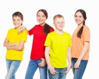 Niños del grupo Fotografía de archivo