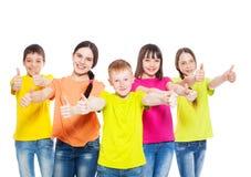 Niños del grupo Imagen de archivo
