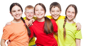Niños del grupo Imagenes de archivo