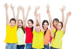 Niños del grupo Foto de archivo