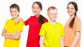 Niños del grupo Fotos de archivo