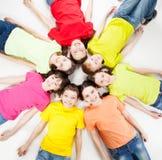 Niños del grupo Imágenes de archivo libres de regalías