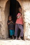 Niños del Masai Foto de archivo libre de regalías