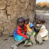 Niños del Masai Fotografía de archivo libre de regalías