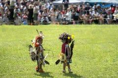 Niños del nativo americano Fotos de archivo