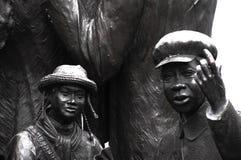 Niños del pilar Foto de archivo