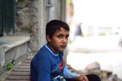 Niños del refugiado en la Turquía foto de archivo libre de regalías