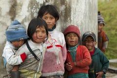 niños del tercer mundo Foto de archivo libre de regalías